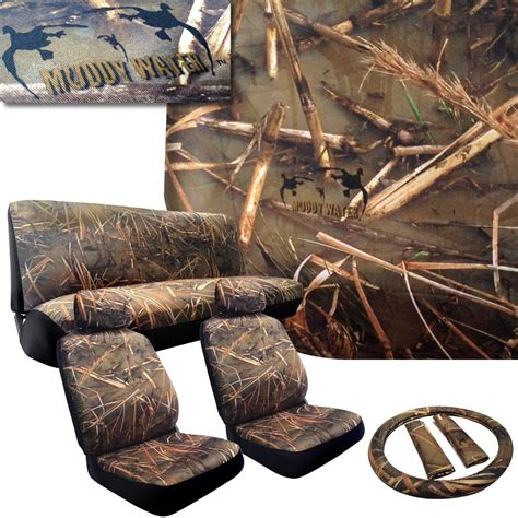 muddy water camo muddy water camo seat covers 2 front from epic