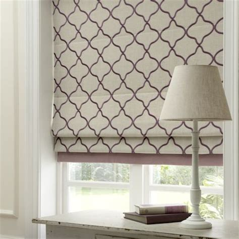 patterned fabric roman shades window shutters and blinds ireland