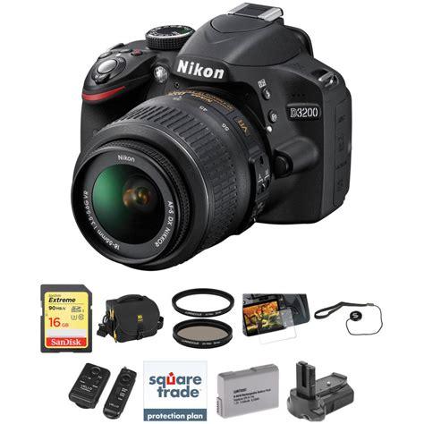 lens nikon d3200 nikon d3200 dslr with 18 55mm lens deluxe kit