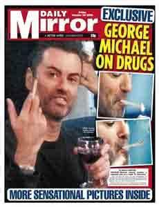 George Michael Smokes Marijuana During by George Michael In 2006 Marijuana Keeps Me Sane And Happy