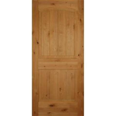 2 panel interior doors home depot builder s choice 30 in x 80 in 2 panel arch top unfinished v grooved solid knotty alder