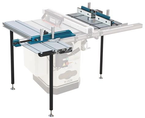 new shop fox 174 router table sliding table attachment