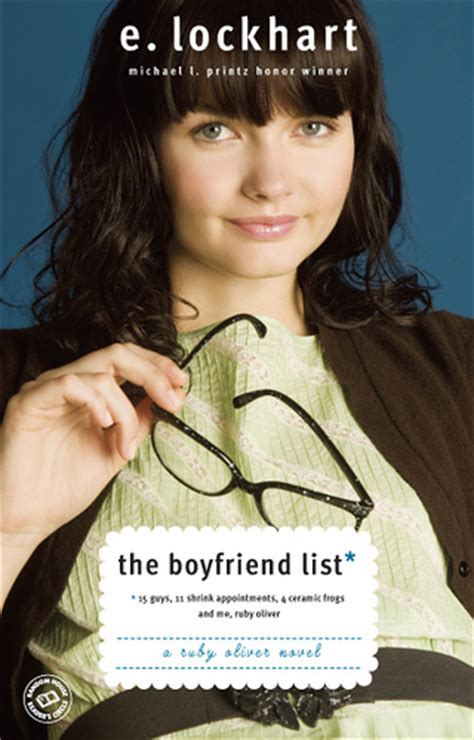 Book Review The Boy Book By E Lockhart by Book Review The Boyfriend List By E Lockhart