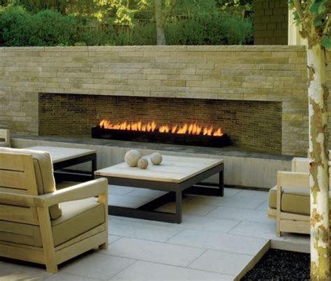 the fireplace and patio place it s all about the modern patio