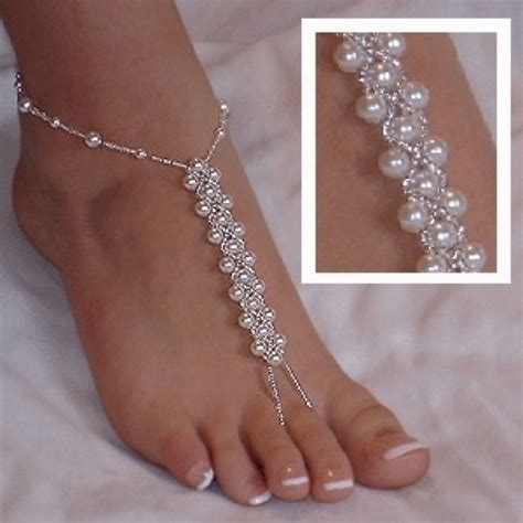 how to make foot jewelry foot jewelry wedding ideas