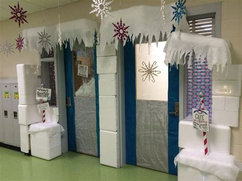 Winter School Decorations by Winter Classroom Door Decoration I Had Many