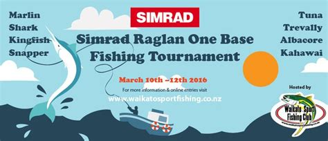 Fishing 11 Raglan simrad raglan one base tournament raglan eventfinda