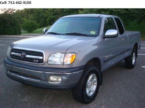 2000 Toyota Tundra Mpg Buy Used 2000 Toyota Tundra Sr5 Extended Cab 4 Door