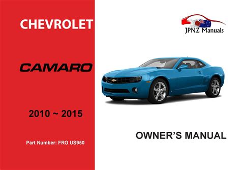 car owners manuals free downloads 1999 chevrolet camaro windshield wipe control chevrolet camaro 2010 2015 owners manual view online