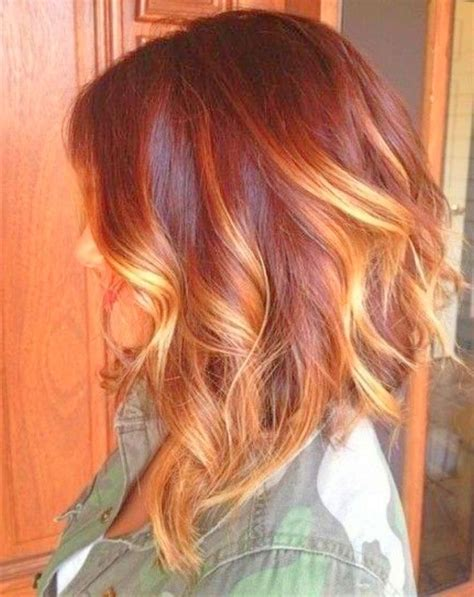red to blonde ombre bob 17 best ideas about red ombre on pinterest dark red