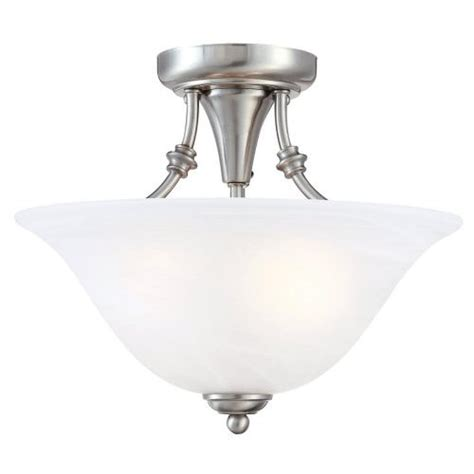 light fixture hardware hardware house 544676 bristol 13 by 11 inch 2 light semi flush ceiling fixture with brushed