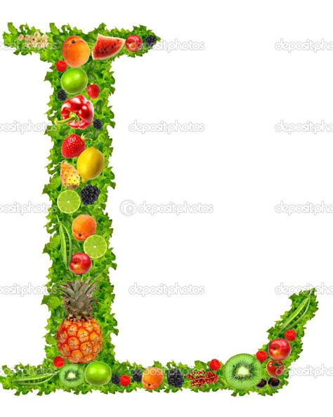 l fruits fruit and vegetable letter l stock photo 169 kesu01 7795190