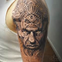 Aztec Jaguar Warrior Aztec Warrior Portrait Animal Carvings Best
