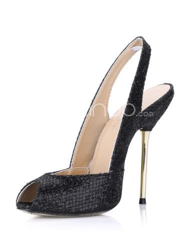 peep toe snake print slingback high heels peeps snake print and toe