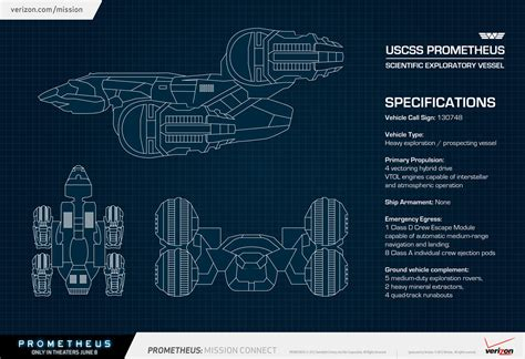 Star Trek Enterprise Floor Plans Az Uscss Prometheus Filmdroid