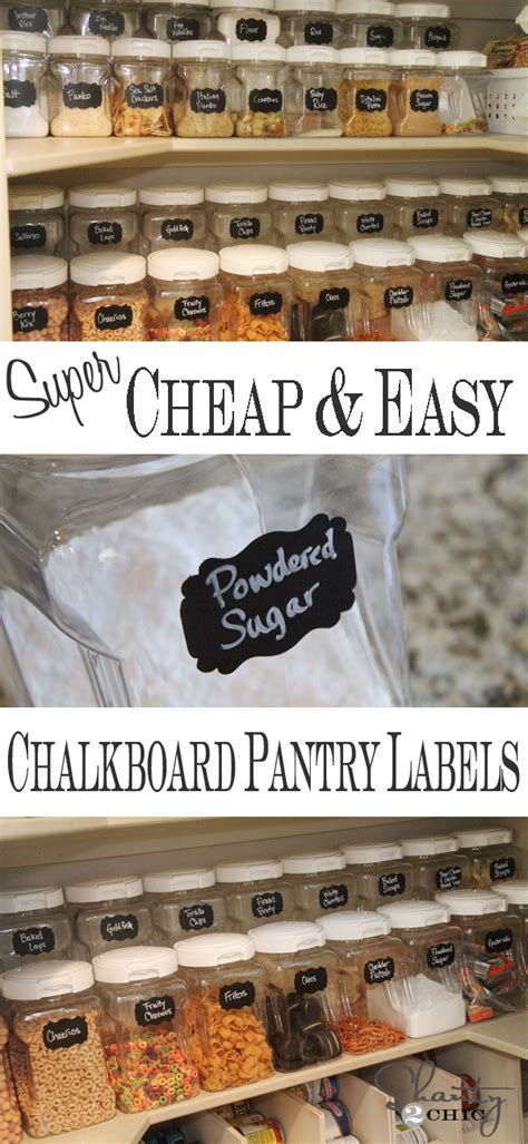 Labels For Pantry by
