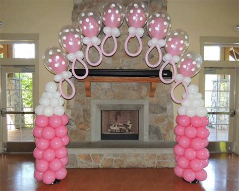 Baby Shower Decor For by Baby Shower Balloon Decorations Pacifier Arches