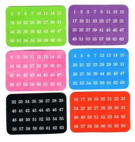 printable magic number cards magic numbers