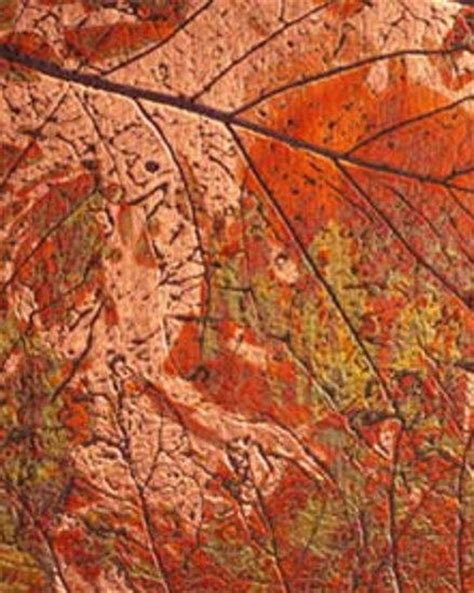 leaf pattern laminate countertops 622g copper autumn leaves composite panels from homapal