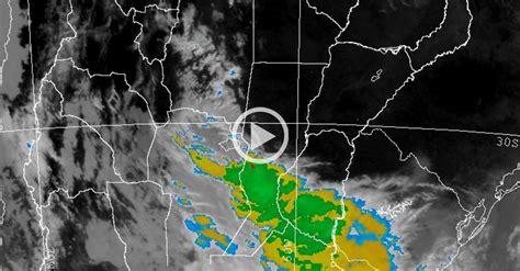 imagenes satelitales smn argentina as 237 se desplaza la tormenta sobre santa fe el litoral