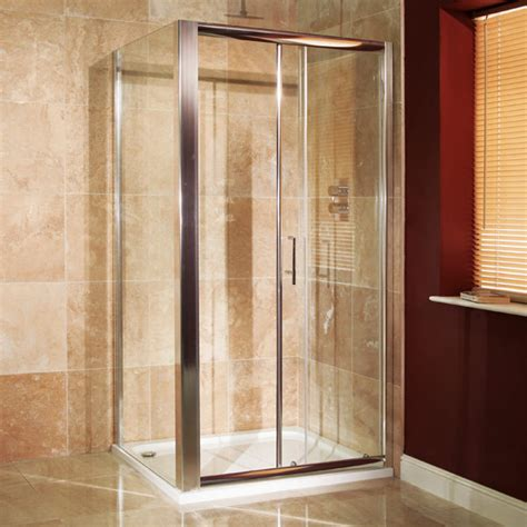1000 Shower Door Reversible 6mm 1000 X 700 Sliding Door Shower Enclosure