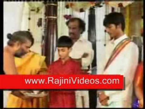 rajinikanth aishwarya & danush wedding full coverage video