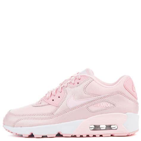 Nike Air Max 90 White Pink nike air max 90 se mesh gs prism pink prism pink white