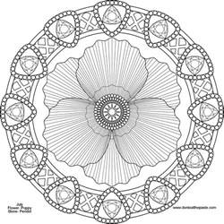 flower mandala coloring pages don t eat the paste august 2013