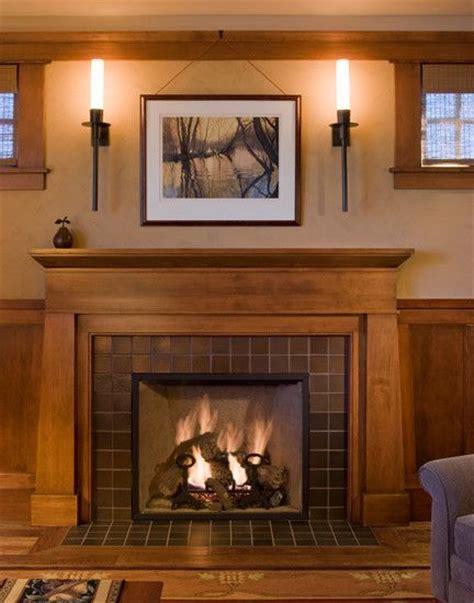 craftsman fireplace surround designs woodworking