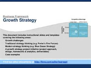 Business Growth Strategy Template Growth Strategy