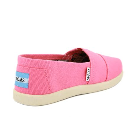 kid toms shoes toms classic slipons 91c10 pink ebay