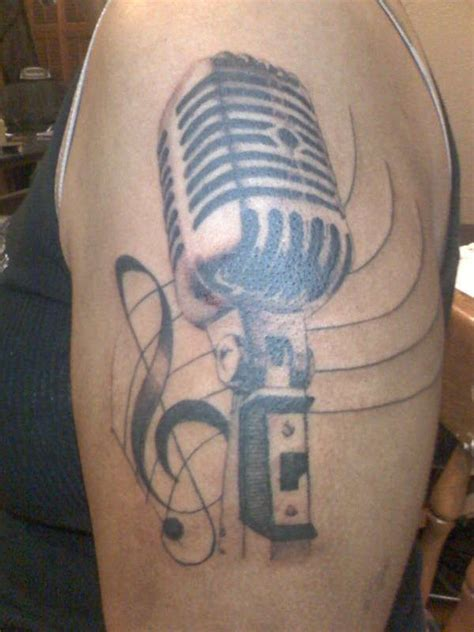mic tattoo image detail for mic flickr photo l