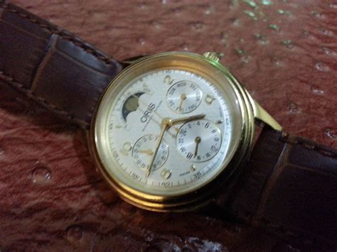 Harga Jam Tangan Merk Oris just ordinary s o l d oris moonphase automatic