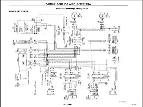 infiniti  headlight wiring diagram wiring forums