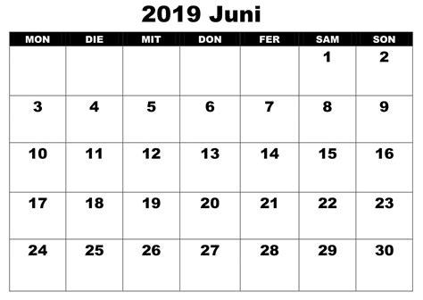 kalender juni   word excel