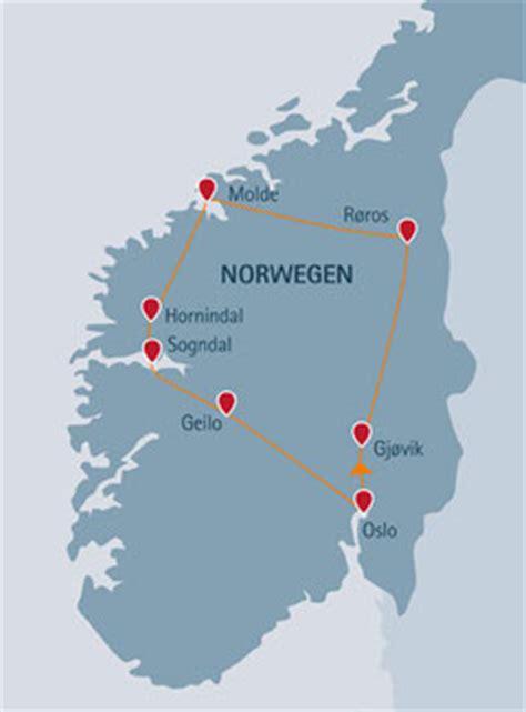 Norwegen Rundreise Auto by Auto Rundreisen Norwegen Sommerurlaub 2018 Buchen Fjell