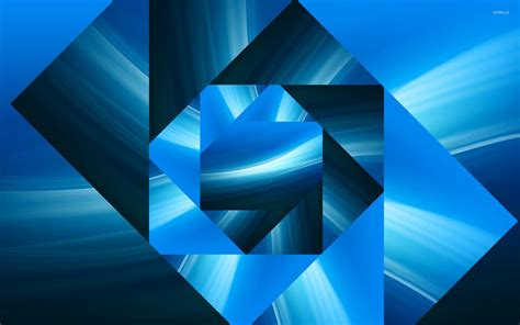 wallpaper abstract square blue square spiral wallpaper abstract wallpapers 26976