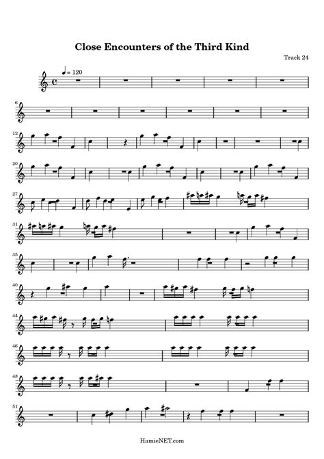 theme music close encounters third kind close encounters of the third kind sheet music close