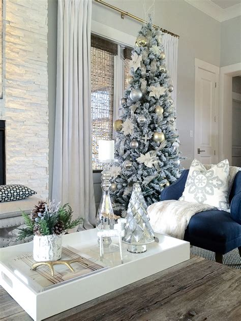 decorate xmas tree modern apartment white modern tree home design