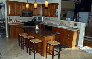 island bar for kitchen a guide for kitchen island with breakfast bar and granite top