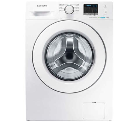 Samsung Washing Machine Buy Samsung Ecobubble Wf70f5e0w2w Washing Machine White Free Delivery Currys