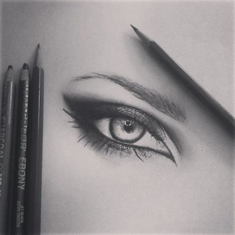 A Drawing Of An Eye by Eye Drawing By Emackelder On Deviantart