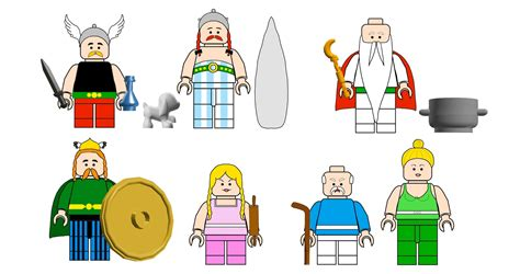 LEGO Ideas - Asterix & Obelix