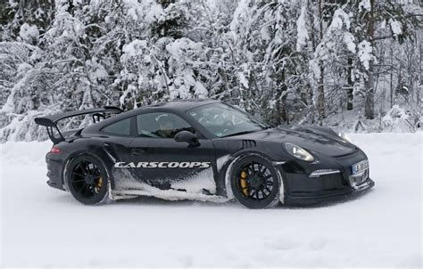 porsche snow new porsche 911 gt3 rs spied dancing in the snow