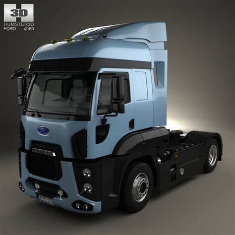 ford cargo tractor unit for sale ford cargo xhr tractor truck 2011 3d model humster3d