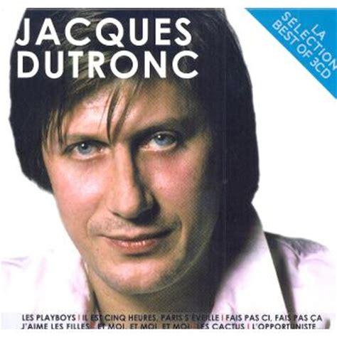 jacques dutronc cactus s 233 lection 3 cd jacques dutronc cd album fnac