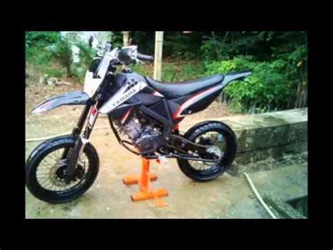 motor yamaha jupiter mx modif supermoto dengan velg