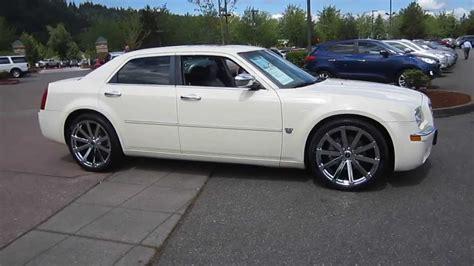 Chrysler White by 2007 Chrysler 300 White Stock 13 2532a