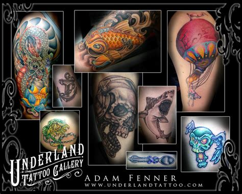 handcrafted tattoo and art gallery underland gallery custom handcrafted