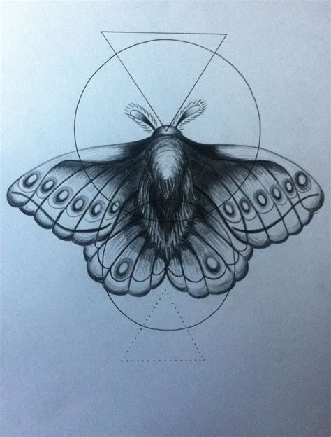tattoo fixers geometric moth geometric moth in black pencil and pen by victoria taylor